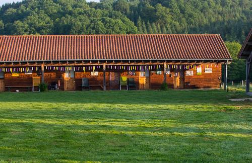 Les chambres de la ferme pédagogique