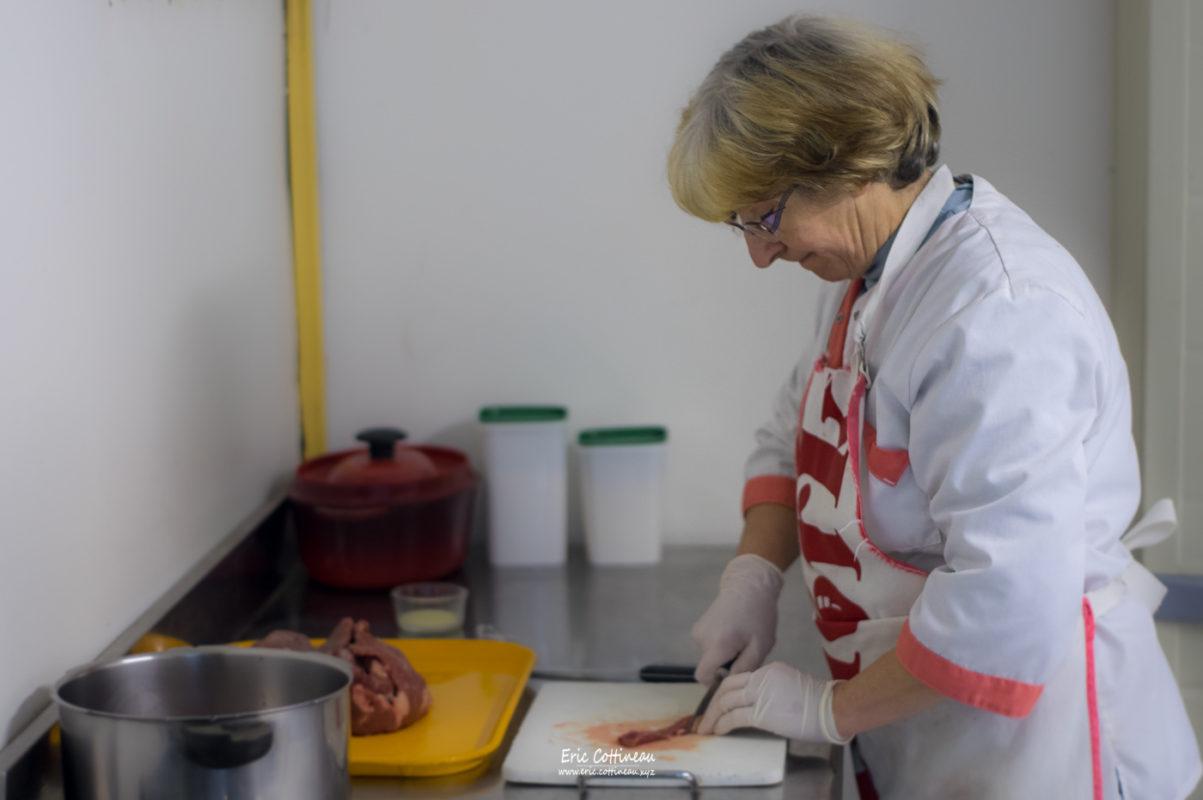 Anne-Marie cuisine.