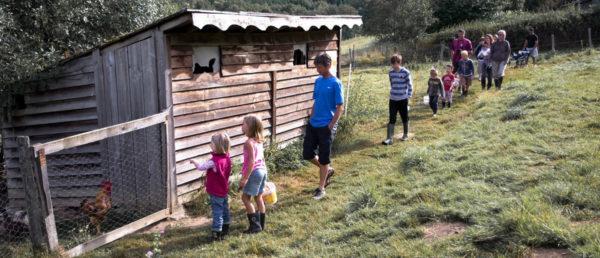 En famille à la ferme pédagogique